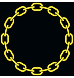 Chain vector image vector image