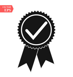 an isolated badge icon with vector image