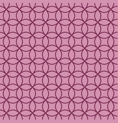 Bright lilac linear pattern vector