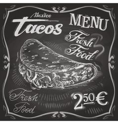 burritos tacos logo design template fast vector image