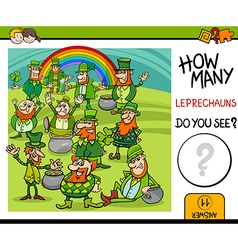 Counting task with leprechauns vector