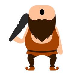 cute cyclops icon vector image