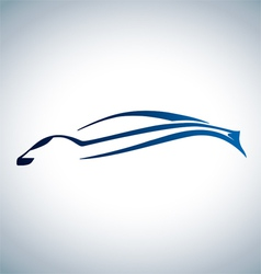 Logo of sport auto vector image