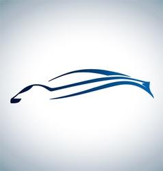 logo sport auto vector image