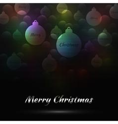 Merry Christmas Bakcground vector image