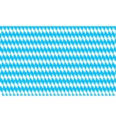 Oktoberfest pattern with rhombus background vector