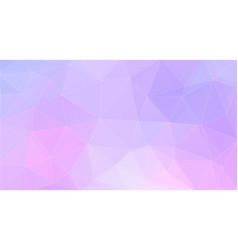 pastel color abstract triangle shape background vector image