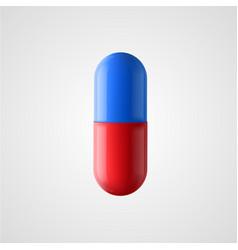 Pill medicine concept vector