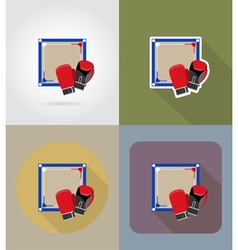 Sport flat icons 75 vector