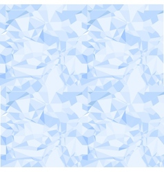 Blue seamless pattern of crumpled paper vector image