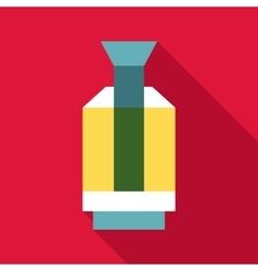 Flashlight icon flat style vector