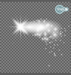 christmas starmagic stars isolated spark - stock vector image vector image