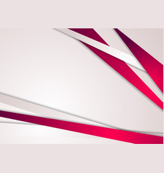 Abstract pink stripes corporate art background vector