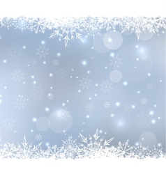 Abstract Winter Background vector