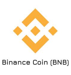 binance coin bnb crypto co vector image