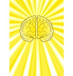 Bright Brain vector