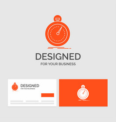 Business logo template for done fast optimization vector