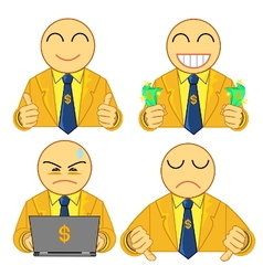 businessman symbol 01 vector image
