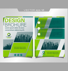 Flyer and leaflet vector