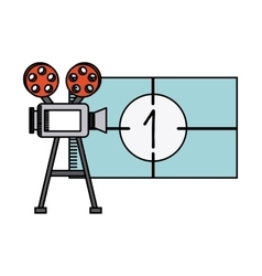 Movie and cinema design vector