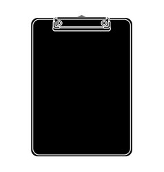 office clipboard clip stationery element blank vector image