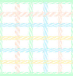 pastel color tartan plaid style colorful seamless vector image