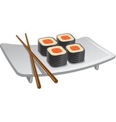 Sushi icon vector