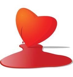 Valentines design element vector