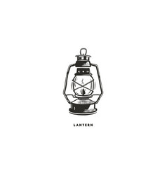 Vintage hand drawn lantern concept perfect for vector