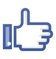 Thumb Up Symbol vector image