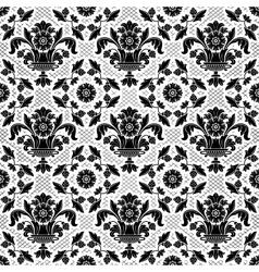 floral ornamental background vector image vector image