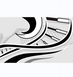 dna model vector image vector image
