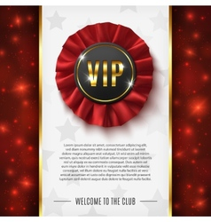 VIP background vector image vector image