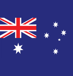 Australia flag for independence day and vector