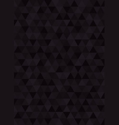 geometric abstract black carbon verticale vector image