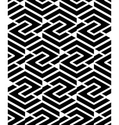 Geometric seamless pattern with parallel lines and vector