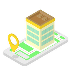 Isometric location application vector