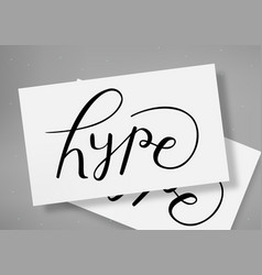 Lettering desing template vector