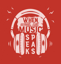 music tee graphic design poster music vector image