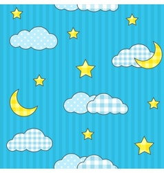 Night sky 2 vector image