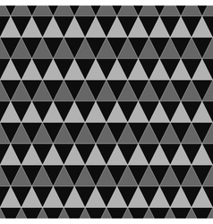 Triangle geometric seamless pattern 2208 vector image