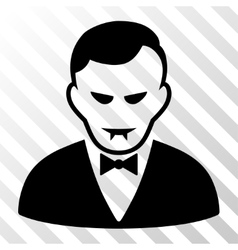 Vampire icon vector