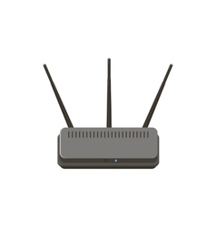 Wireless router icon cartoon style vector image
