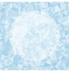 Blue Light Polygonal Mosaic Background vector image vector image