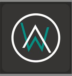 Alan walker logo vector