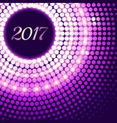 Amazing 2017 new year celebration background vector