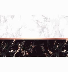 luxury marble background chic design card vector image