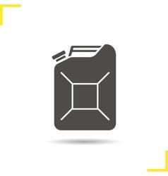 Pertol jerrycan icon vector