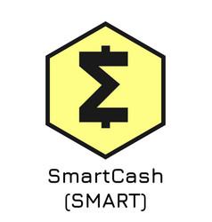 Smartcash smart crypto coi vector