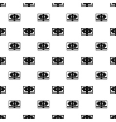 Stack of money pattern simple style vector